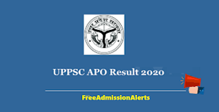 UPPSC APO Results