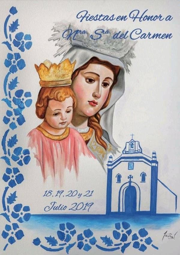 Presentado el cartel anunciador de las fiestas en honor a Nuestra Señora del Carmen de la Pro-Hermandad Del Carmen Isla Canela