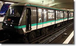 Best options for public transport around paris