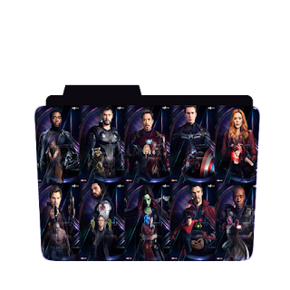 Preview of Avengers Infinity War, movie, Character, folder icon