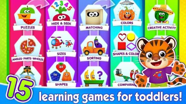 Learning games for toddlers