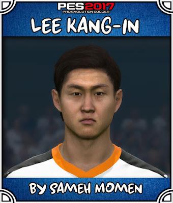 PES 2017 Lee Kang-in Face by Sameh Momen