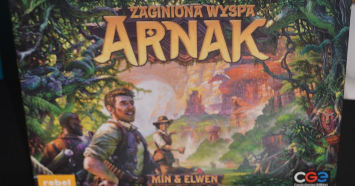 Co znajdziesz na wyspie? – recenzja gry Zaginiona Wyspa Arnak