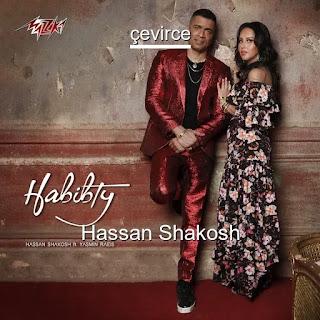 Habibty Arabic Lyrics + Translation - Hassan Shakosh Feat. Yasmin Raeis