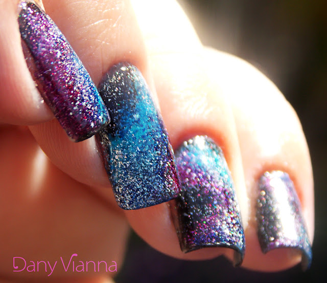 #31DC2015 - Galaxy Nails