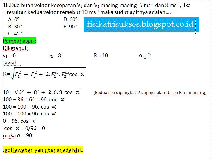 Soal Dan Jawaban Fisika Kelas X Semester 1 Pembelajaranfisika Materi Pendidikan Kumpulan