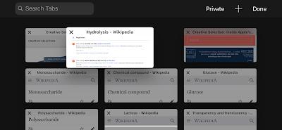 How to rearrange tabs in safari iPhone Browser