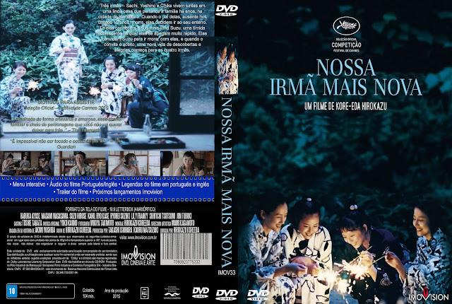 Capa DVD Nossa Irmã Mais Nova