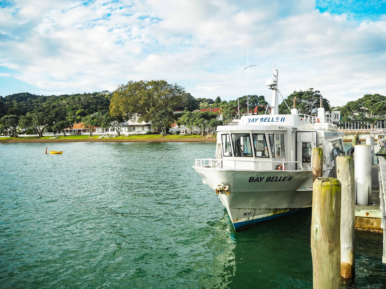 Boat to Russell, New Zealand