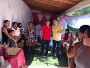 Vereador Naldo do Morro promove café da manhã e distribuição de presentes para as mães no Morro dos Caboclos em Trizidela do Vale.