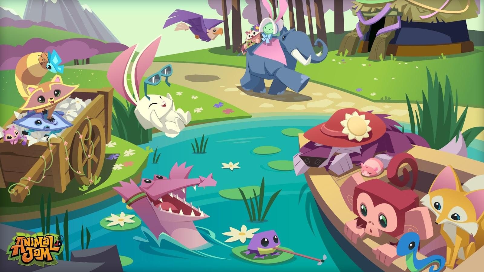 Animal jam spirit blog august 2015 - Animal jam desktop backgrounds ...