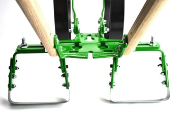 Other Cultivators Include A Flip And Go A Clever Top And Bottom Sided  Cultivator With A Plow On One Side And Traditional Garden Tines On The  Other Side.