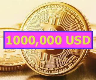 Bitcoin có thể tăng 1 triệu USD rồi sụp đổ