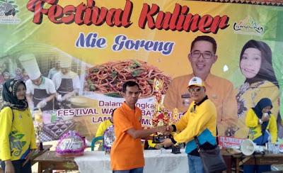 Empat Puluh Peserta Festival Kuliner Ramaikan Festival Way Kambas ke XIX