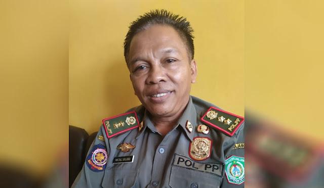 Kepala Satpol PP Lumajang Matali Bilogo