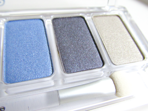 essence Cinderella - Eyeshadow Palette 01 It´s more than I ever hoped for - Blau & Gold Töne nah