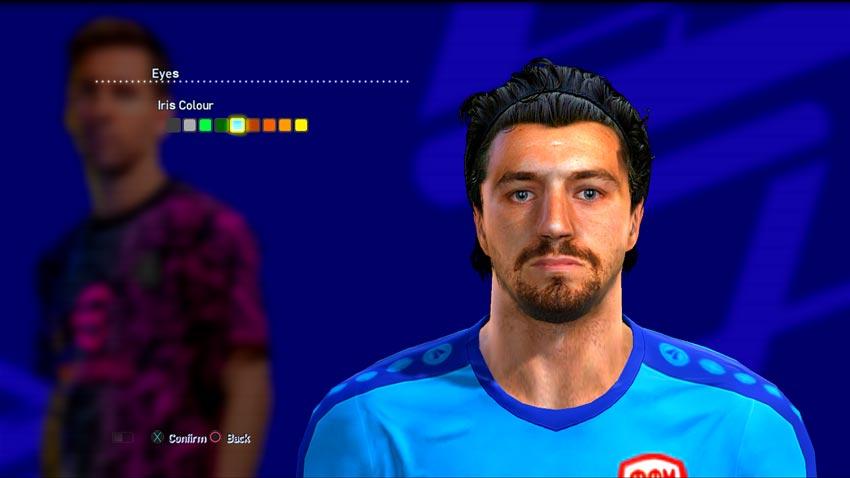 Stole Dimitrievski Face For PES 2013