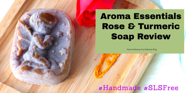 Aroma Essentials Rose & Turmeric Soap