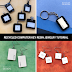 How to Make Recycled Computer Key Resin Jewelry Tutorial