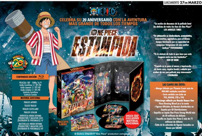 One Piece: Estampida - Selecta Visión