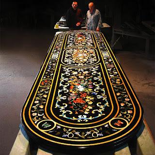 mosaico tavolo