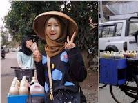 7 Penjual jamu cantik yang pernah viral