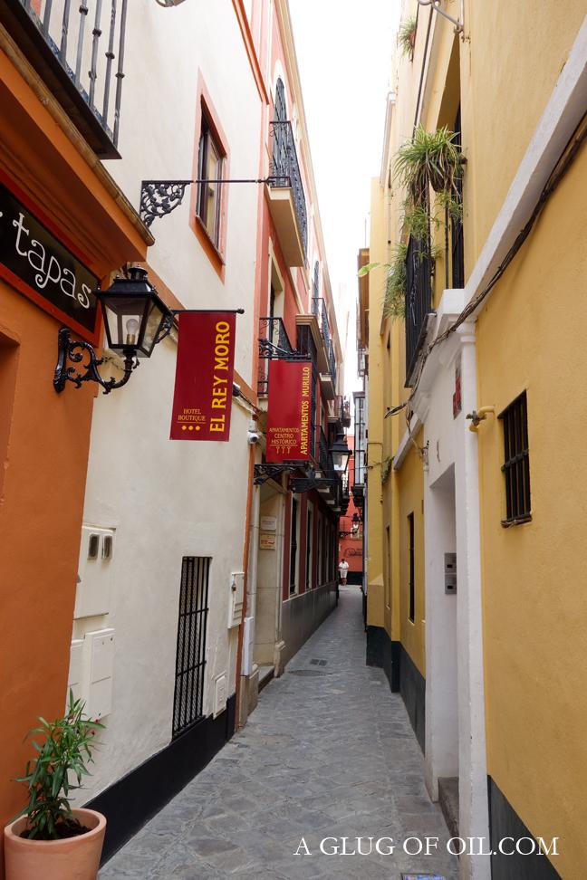 Street in Seville