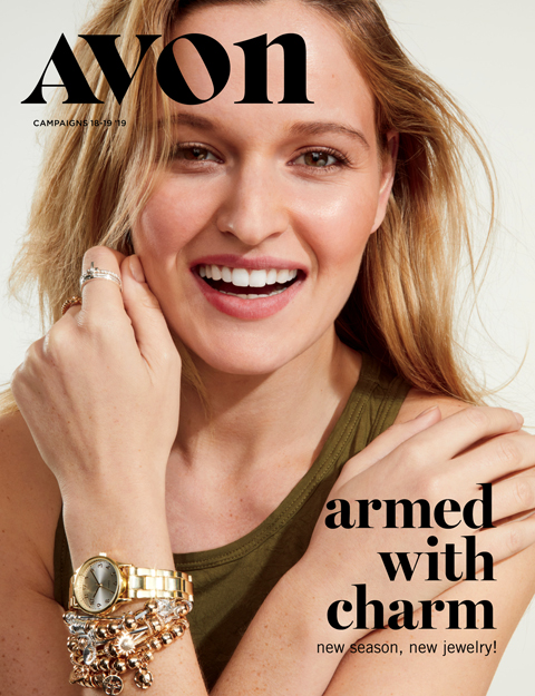 avon catalog 18-19 2019 armed with charm sale flyer