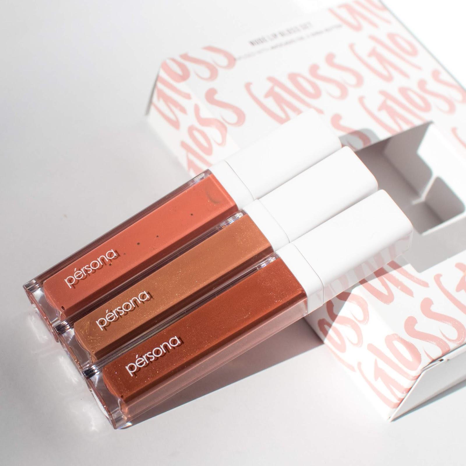 Persona Cosmetics Season One Lip Glosses