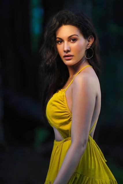 Amyra Dastur Latest Photo Stills in Yellow Dress Actress Trend