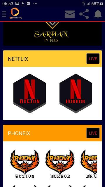 تحميل تطبيق SARHAN-TV PLUS لمشاهدة القنوات المشفرة و الافلام اخر تحديت 2020/2021