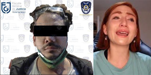 Detienen al Youtuber 'Rix' por presunta violación hacia Nath Campos