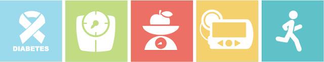 icones que representam diabetes