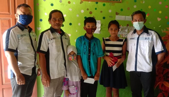 Jelang Lebaran Sekber IPJT Purworejo Beri Santunan Anak Yatim