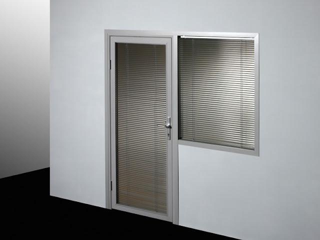 cửa nhôm kính đẹp - mẫu thiết kế số 5