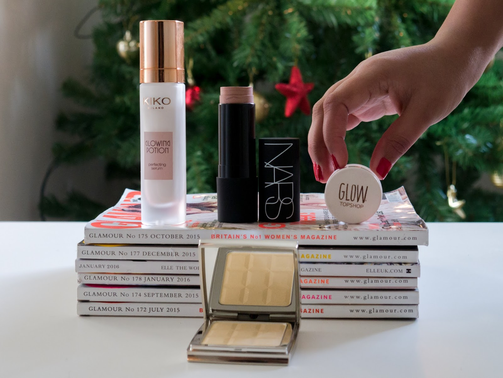 best highlighters for indian skin, nars multiples, topshop glow