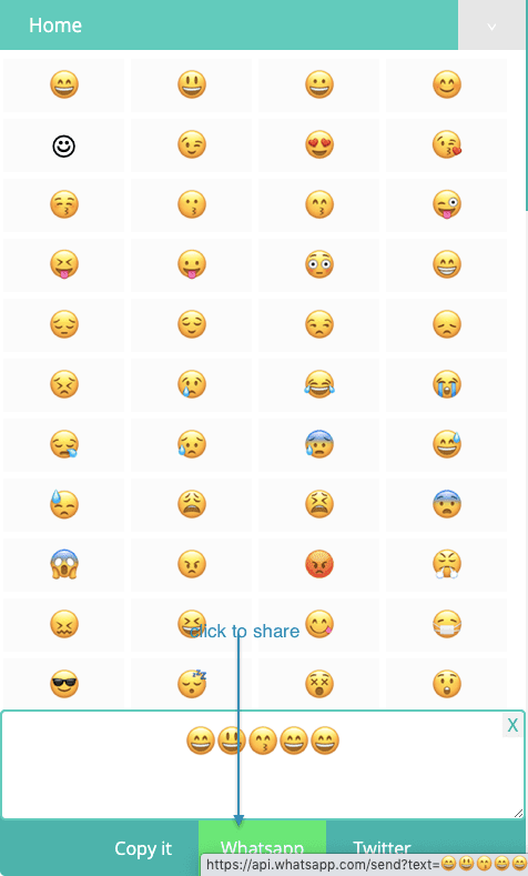 How to Share Smiley Emojis On Whatsapp?