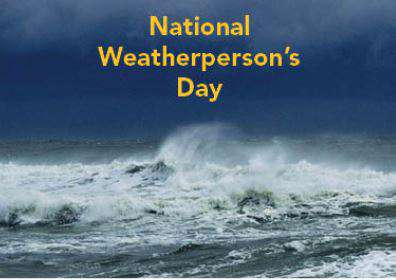 National Weatherperson's Day Wishes Awesome Picture