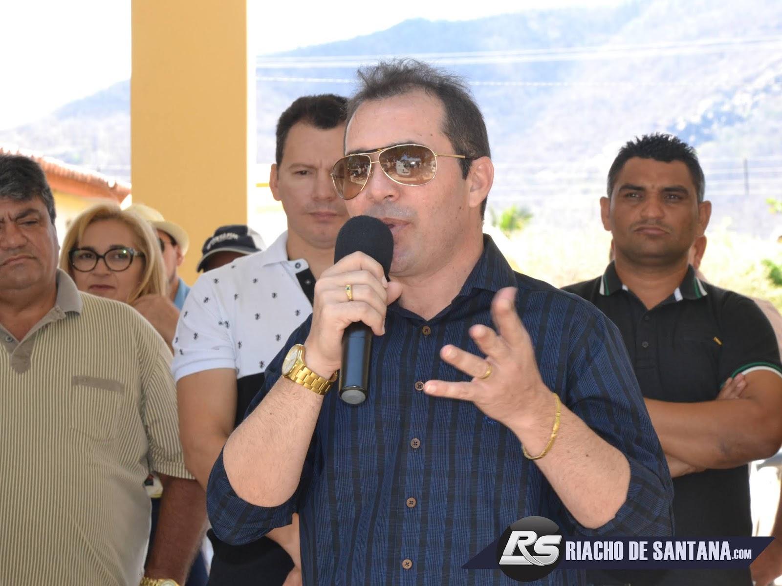 Resultado de imagem para jesse freitas, prefeito de Riacho de Santana