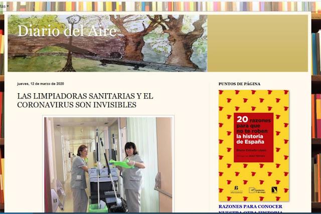 https://www.diariodelaire.com/2020/03/las-limpiadoras-sanitarias-y-el.html?fbclid=IwAR0gAihsx5y60035oeLwMKpAB5er0AziqzOo3goHvw_nJR7w1QzGhk8OYAc