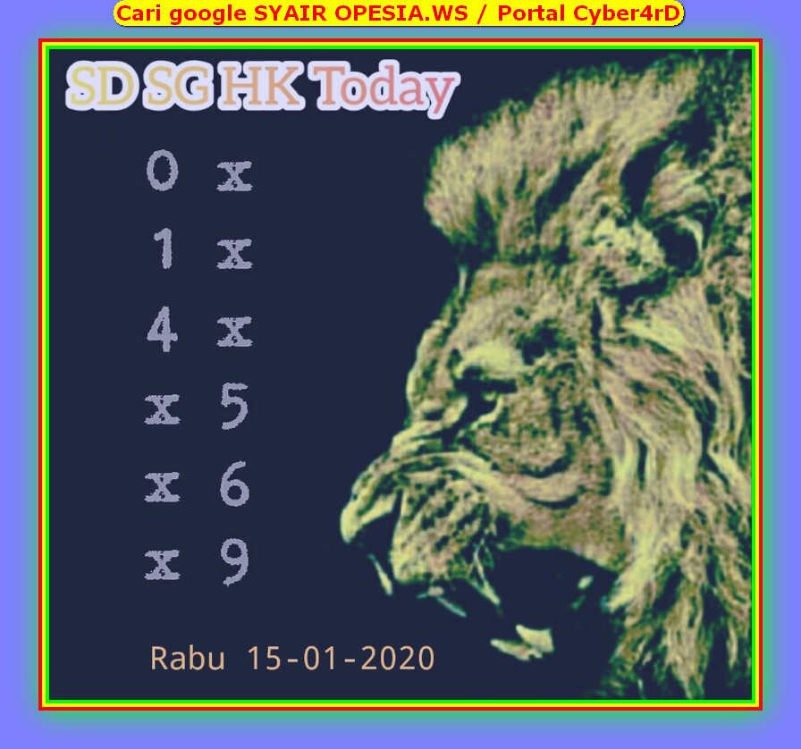 Kode syair Sydney Rabu 15 Januari 2020 38