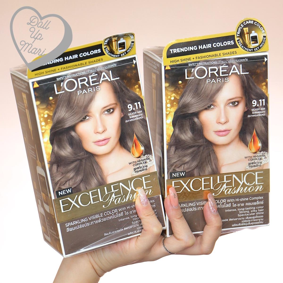 L'Oréal Excellence Fashion (9.11 Silver Ash)