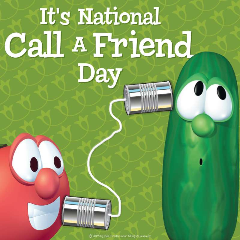 National Call a Friend Day Wishes Images download