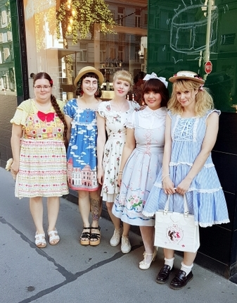 lolita teekränzchen, lolita fashion, kawaii fashion, jfashion, glam, gothic lolita austria