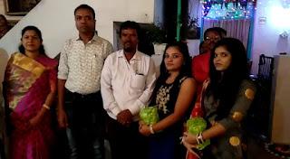दिवाली की पूर्व संध्या पर आयोजित की गई रंगोली प्रतियोगिता