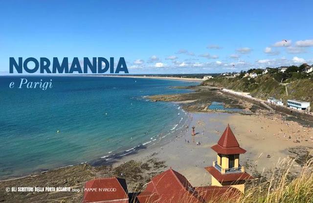 [Mamme in viaggio] Viaggiare con i figli ai tempi della globalizzazione: la Normandia e Parigi - Spiaggia - Credits: Elena G. Santoro
