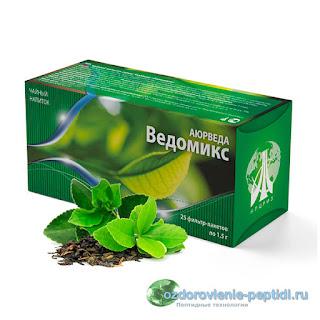 Ведомикс - чай для плавного очищения организма от токсинов