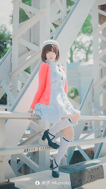 Munoko - Megumi Kato Cosplay Wallpaper