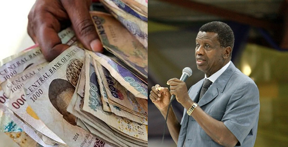 Naira is going to be strong again-Pastor Adeboye prays