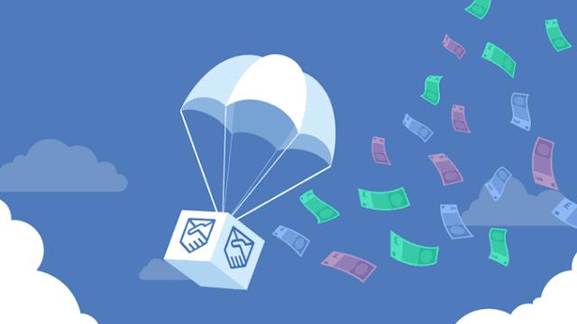 Kiếm tiền từ Airdrop